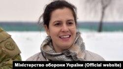Член Палати представників Конгресу США Еліс Стефанік в Україні. Лютий, 2018.