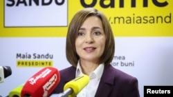 Moldova prezidenti Maia Sandu
