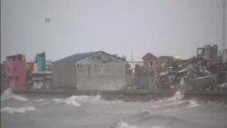 颱風巨爵襲擊菲律賓北部