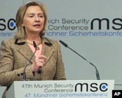 La secrétaire d'Etat Hillary Clinton