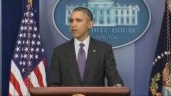 Українська криза та Путін тягнуть Обаму на дно
