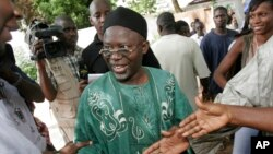 Kiongozi wa upinzani nchini Gambia, Ousainu Darbo.