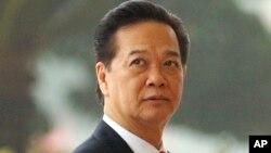 现任越南政府总理阮晋勇