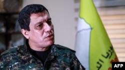 Fermandarê Giştî yê Hêzên Sûrîya Demokratîk (HSD) Mazlum Abdî