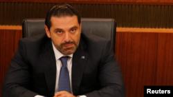 Lebanon's Prime Minister Saad al-Hariri