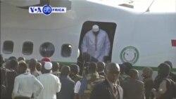 Perezida Adama Barrow wa Gambiya Yatashe Mu gihugu Ciwe