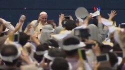 Esperanza, mensaje del Papa Francisco para los jóvenes asiáticos