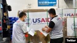 Cơ quan viện trợ phát triển của Mỹ (USAID) đã trợ giúp nhân đạo cho Việt Nam trị giá hàng trăm triệu đô la trong những năm qua. (ảnh của USAID, tháng 9/2020)