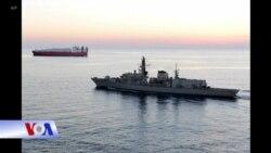 London tố cáo tàu Iran quấy nhiễu tàu dầu Anh
