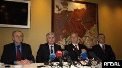 Lideri koalicione četvorke u Mostaru, 27. decembra 2012.