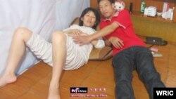 2012年6月10日曹如意夫妇回到家中