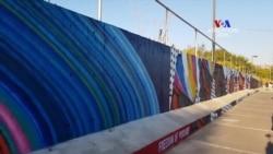 ԱՌԱՆՑ ՄԵԿՆԱԲԱՆՈՒԹՅԱՆ․ 100+ մետրանոց Տրանսատլանտյան արժեքների պատի բացումը ԱՄՆ դեսպանատան տարածքում