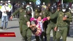 Campuchia dẹp biểu tình phản đối căn cứ quân sự Trung Quốc