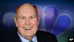 """FILE - Willard Scott, former NBC """"Today"""" show weatherman, had a 65-year career with the network. He died Sept. 4, 2021, at age 87."""