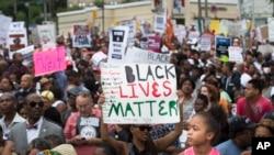 New York a été le théâtre de nombreuses manifestations contre la mort d'Eric Garner dans des circonstances controversées (AP)