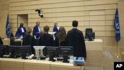한국 정부는 현재 유엔총회에 제출돼 있는 북한인권 결의안 초안을 내정간섭이라고 비난한 주미 중국대사의 발언을 반박했다. 네델란드 헤이그의 국제형사재판소. (자료사진)