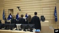 네델란드 헤이그의 국제형사재판소. (자료사진)