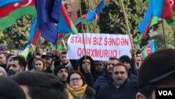 Milli Şura mitinq keçirib -19.01.2019-cu il