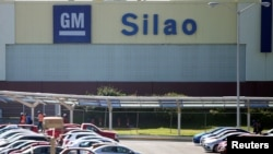 A view of the plant of General Motors in Silao, in Guanajuato state, Mexico, Nov. 9, 2017.