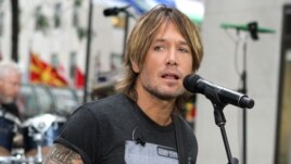 Keith Urban performs on NBC's