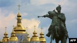 Памятник Богдану Хмельницкому. Киев. Украина (архивное фото)