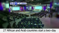 VOA60 Africa - 27 African and Arab countries discuss military cooperation against terrorism
