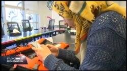 Izbjeglica napravila prsluk za spašavanje opremljen GPS-om