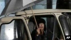 Από την τηλεοπτική εμφάνιση του Μοαμάρ Γκαντάφι