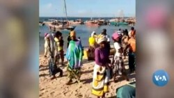 Milhares de deslocados de guerra chegam à costa de Pemba sem nada além de esperança