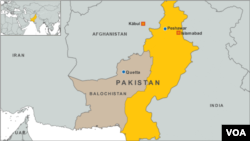 Quetta, Pakistan map