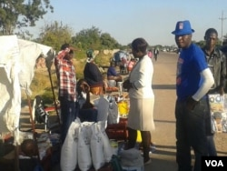 Many people have become vendors due to the harsh economic situation in Zimbabwe.