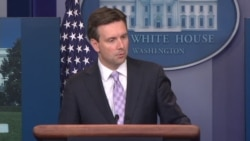 White House Press Sec Josh Earnest on Suspending Talks with Russia