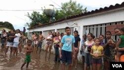 La Voz de Américaconstató que no se permiten el paso de ayuda humanitaria privada ni de medios de comunicación a los estados afectados