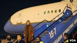 Američki državni sekretar Hillary Clinton u prošlogodišnjoj posjeti BiH, 1. oktobar 2010