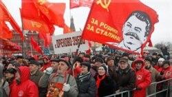 اعتراض شهروندان روسی به روند برگزاری انتخابات پارلمانی