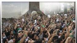 مهدی کروبی اعلام کرد از فلکه دوم صادقیه به راهپیمایان ۲۲ بهمن می پیوندد