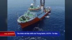 Hải Dương 8 quay lại vùng đặc quyền kinh tế Việt Nam