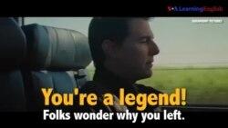Học tiếng Anh qua phim ảnh: You're a legend - Phim Jack Reacher: Never Go Back (VOA)