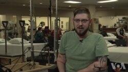 美海军陆战队老兵成功接受双臂移植