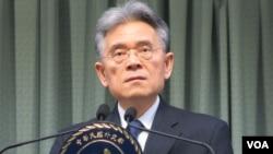 台湾外交部次长柯森耀(美国之音张永泰拍摄)
