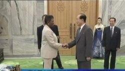 联合国人道救援机构首脑会晤朝鲜议长