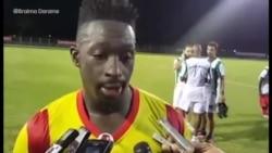 Mamadu Candé fala da expectativa de jogar frente aos Camarões