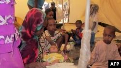 Des déplacés centrafricains