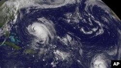 بحر اوقیانوس میں آنے والا 'کاٹیا' نامی سمندری طوفان