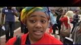 VOA Hausa: Zanga-Zanga Kan Chibok, Talata, a Washington, DC, Mayu 7, 2014