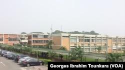 L'université de Cocody, Côte d'Ivoire, 12 décembre 2017. (VOA/ Georges Ibrahim Tounkara)