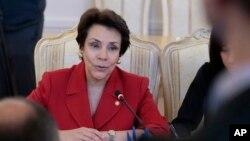 La canciller habló sobre los procesos internos de los estados en la deportación de los migrantes.
