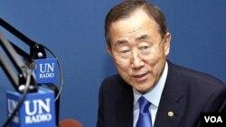 Sekjen PBB Ban Ki-moon menyampaikan dukungan kuat PBB bagi presiden terpilih Ouattara.