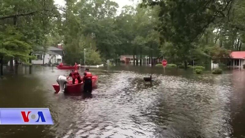Correspondant VOA du 19 septembre 2018: La Caroline du Nord ravagée par le passage de Florence