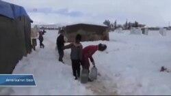 Lübnan'da Mülteciler Kışa Hazırlanıyor